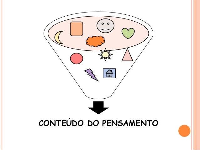 CONTEÚDO DO PENSAMENTO