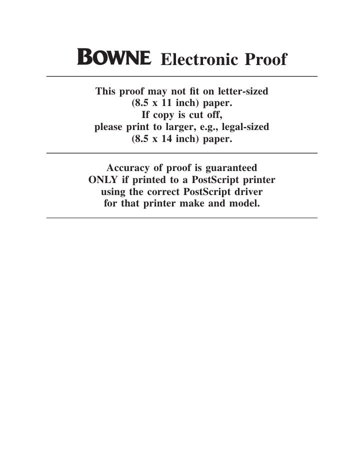 O Electronic Proof  This proof may not fit on letter-sized          (8.5 x 11 inch) paper.            If copy is cut off,  ...