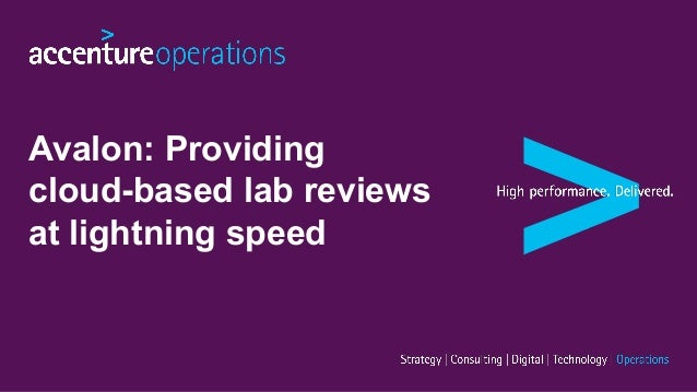 Avalon: Providing cloud-based lab reviews at lightning speed