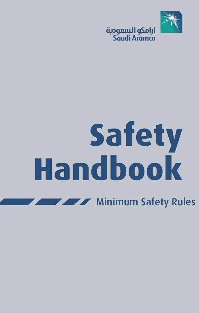 117921179 saudi aramco safety handbook rh slideshare net saudi aramco construction safety manual 2012 saudi aramco construction safety manual 5th edition pdf