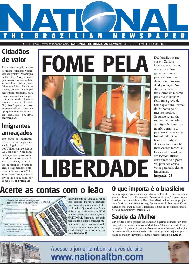 BRAZILIAN NEWSPAPER   THE                            BRAZILIAN                                              NEWSPAPER     ...