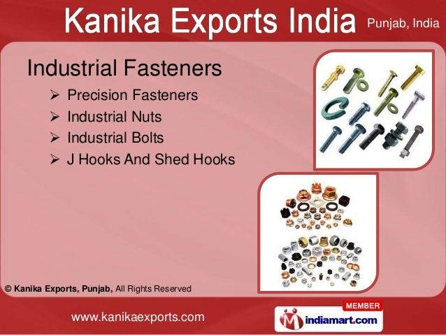 Punjab, India     Industrial Fasteners             Precision Fasteners             Industrial Nuts             Industri...