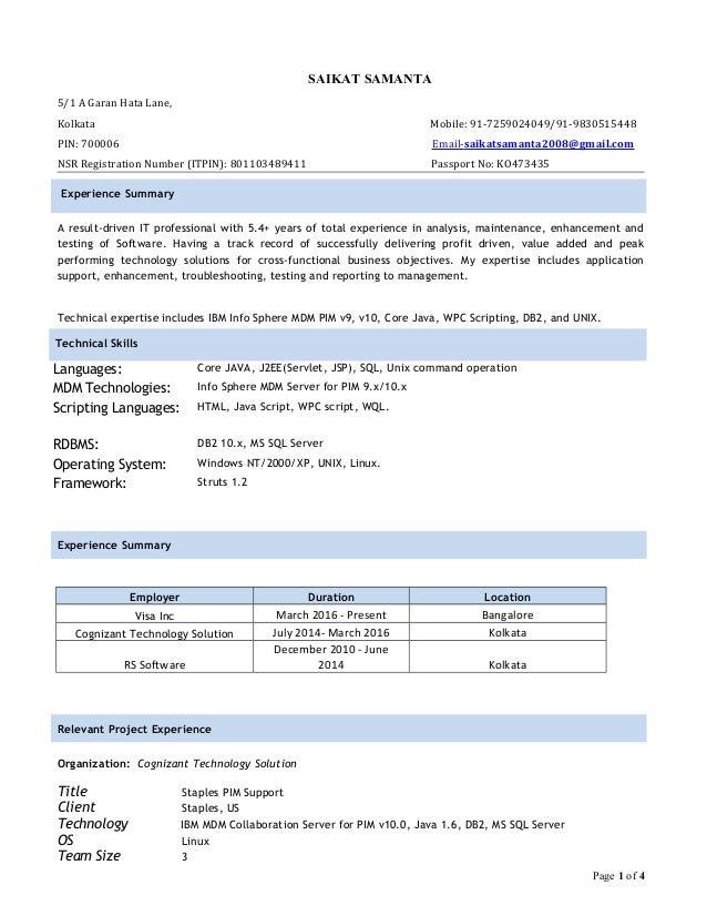 SAIKAT SAMANTA 5/1 A Garan Hata Lane, Kolkata Mobile: 91-7259024049/91-9830515448 PIN: 700006 Email-saikatsamanta2008@gmai...