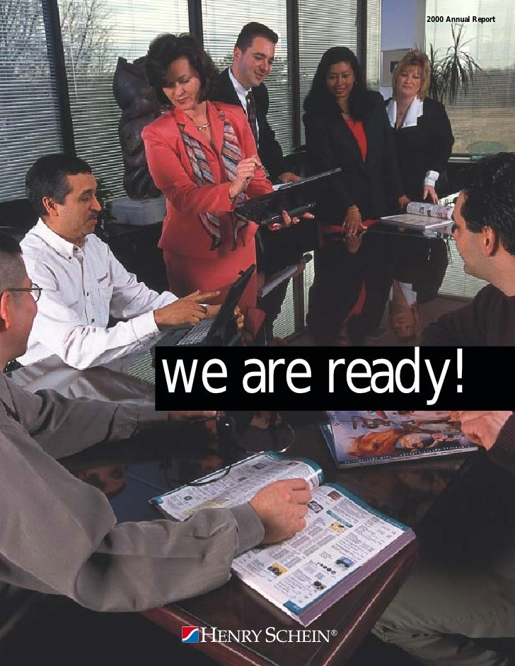 2000 Annual Report     we are ready!