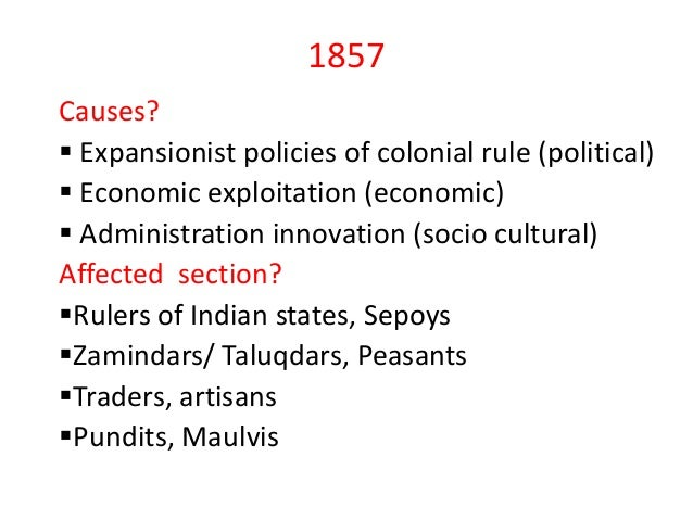 Economic exploitation by colonial powers