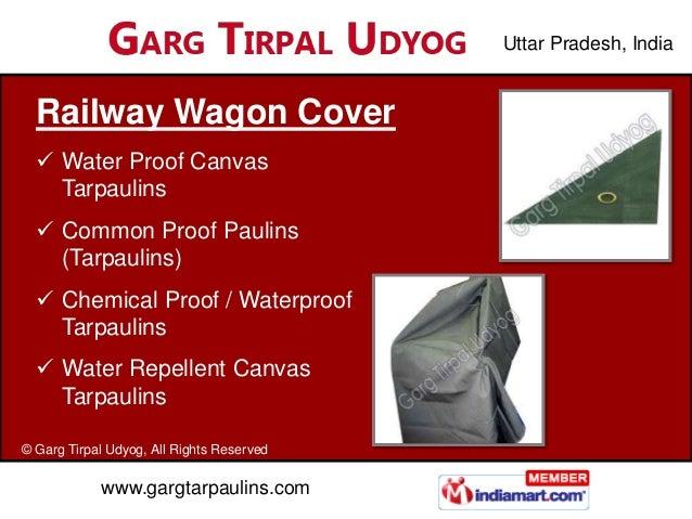 Uttar Pradesh, India  Railway Wagon Cover   Water Proof Canvas    Tarpaulins   Common Proof Paulins    (Tarpaulins)   C...