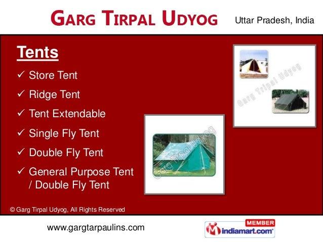 Uttar Pradesh, India  Tents   Store Tent   Ridge Tent   Tent Extendable   Single Fly Tent   Double Fly Tent   Genera...