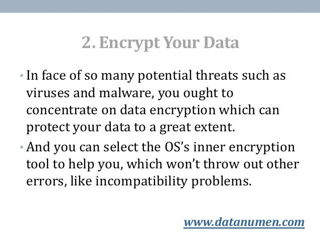 5 Helpful Tricks to Keep Your Data Safe - 웹