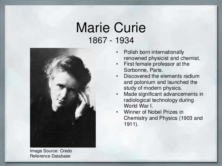 marie curie radium essay The life of marie curie,  text by naomi pasachoff and many illustrations describe curie's contributions to the science of radioactivity and discovery of radium,.