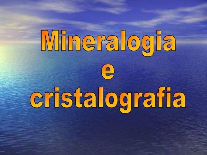 As rochas são constituídas por minerais.Cada rocha possui um conjunto de minerais.A variação de minerais irá originar avar...