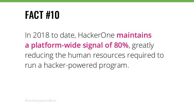 118 Hacker-Powered Facts From The 2018 Hacker-Powered