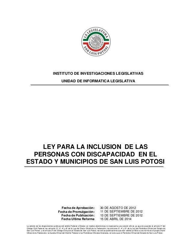La edición de las disposiciones jurídicas del ámbito Federal o Estatal, en medios electrónicos no representa una versión o...