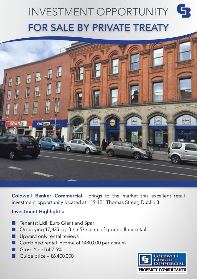 Coldwell Banker Commercial brings to the market this excellent retail investment opportunity located at 119-121 Thomas Str...