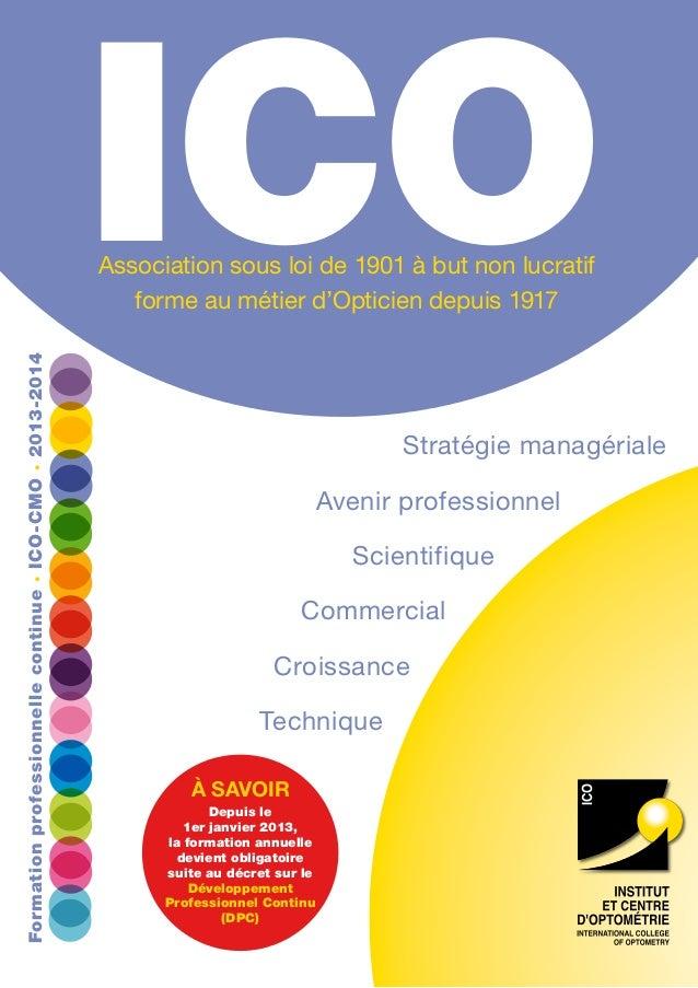 ICO Stratégie managériale Avenir professionnel Scientifique Commercial Croissance Technique à savoir Depuis le 1er janvier...
