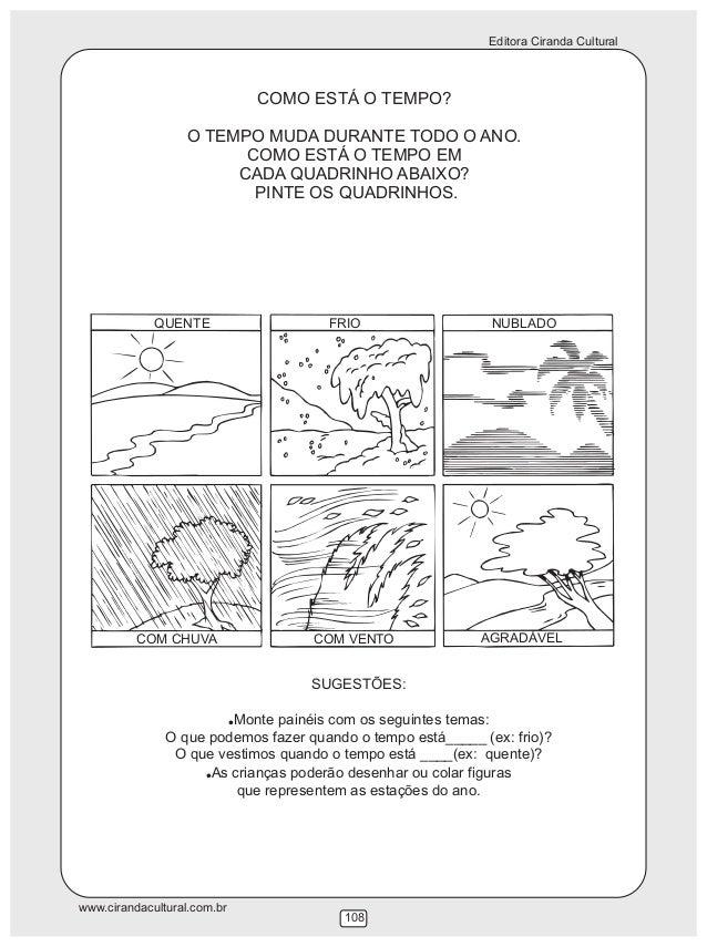119 Atividades Envolvendo Temas Relacionados A Natureza E Sociedade