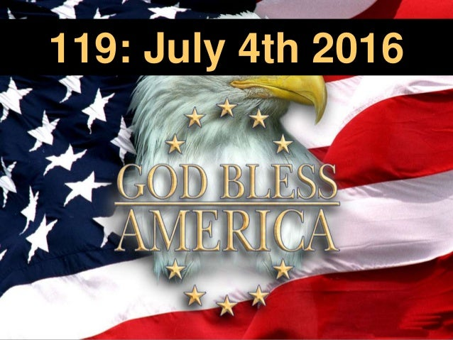 119: July 4th 2016