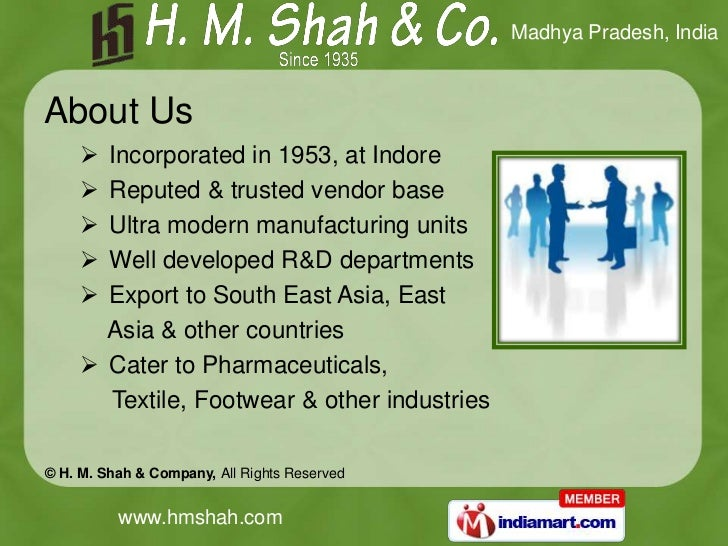Minerals by H. M. Shah & Company Indore Slide 2
