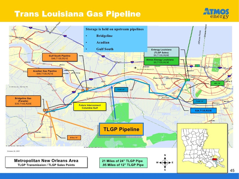 Natural Gas In New Orleans
