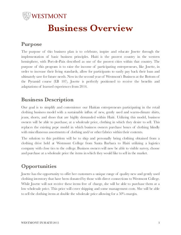 retail clothing business plan Read the executive summary for a retail business plan sample learn how to write your own executive summary for your unique business idea get started.