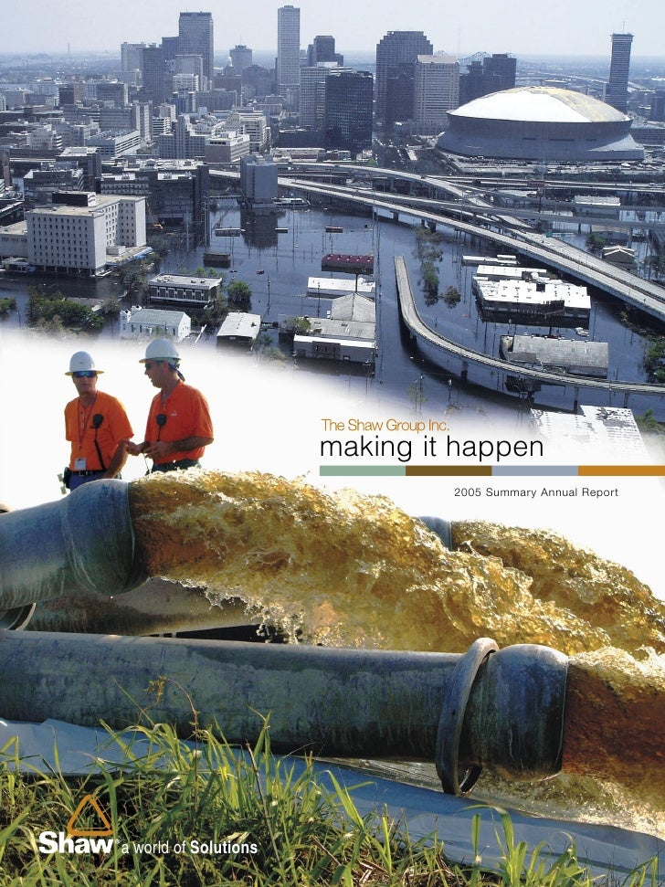 making it happen                                        2005 Summary Annual Report                            a world of S...