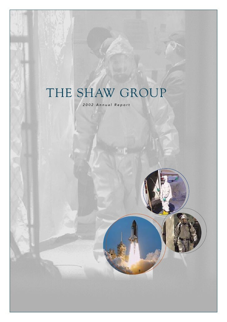 THE SHAW GROUP     2002 Annual Report