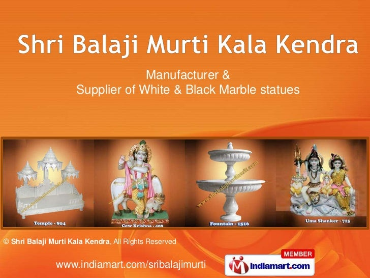 Manufacturer & <br />Supplier of White & Black Marble statues<br />