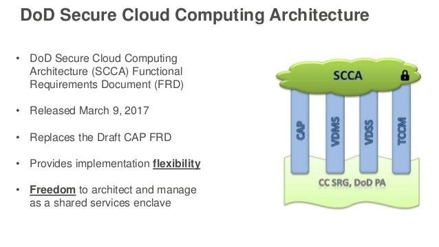 Deploy a DoD Secure Cloud Computing Architecture Environment