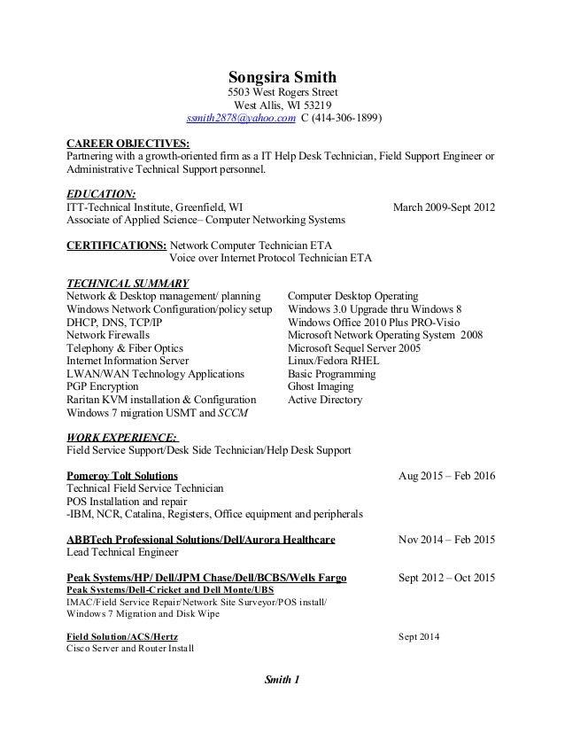 618800 help desk technician resume u2013 unforgettable help desk
