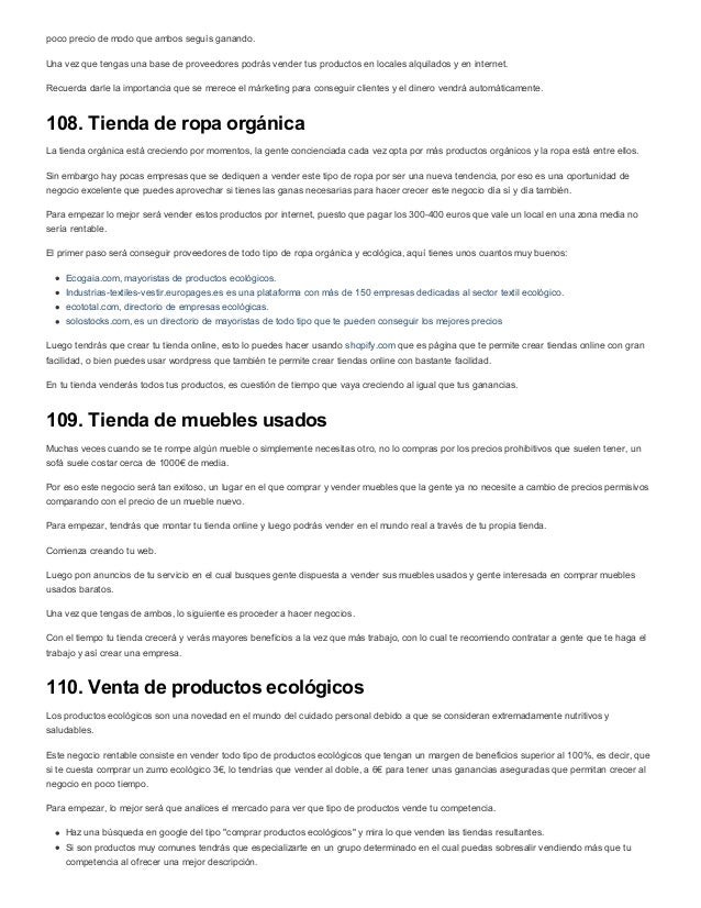 119 Ideas Negocios Rentables Para Ganas Más De 4000 Al Mes