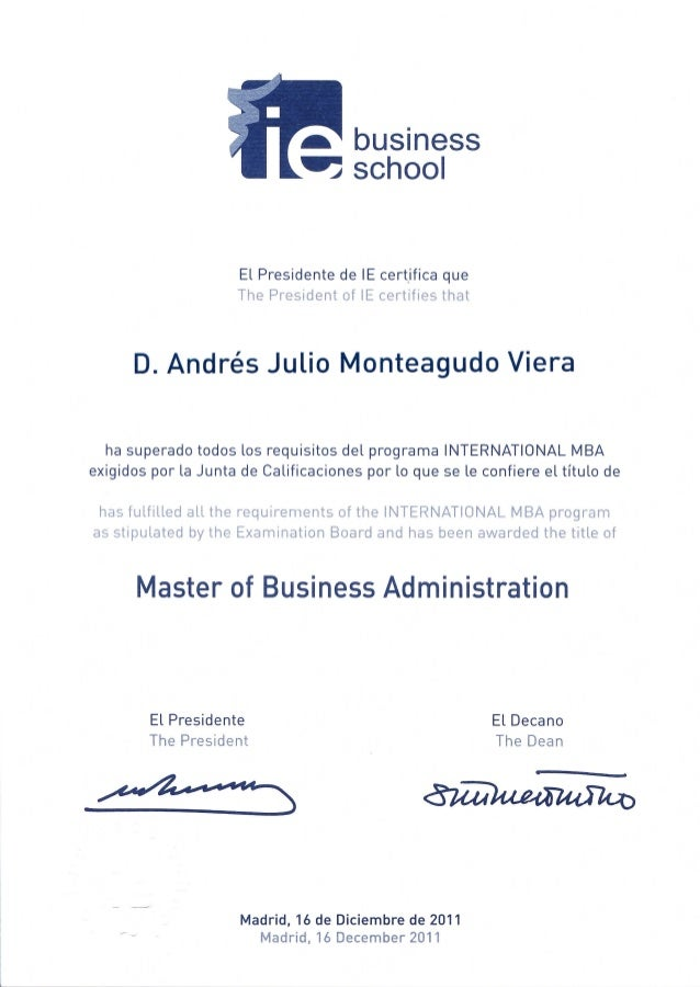 imba program diploma ie imba program diploma