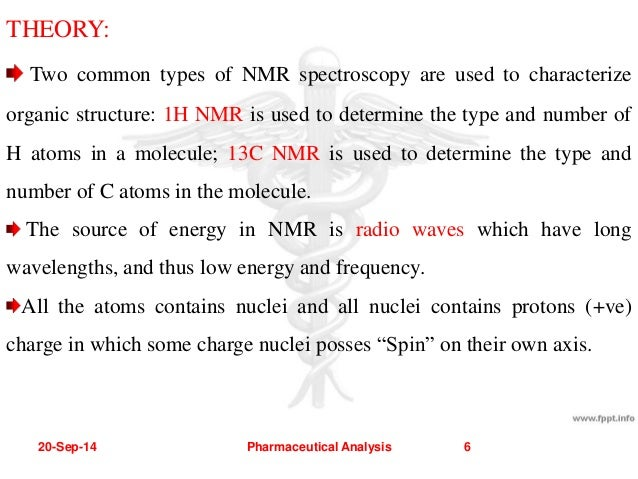 COMPARISION BETWEEN 1 H & 13 C NMR