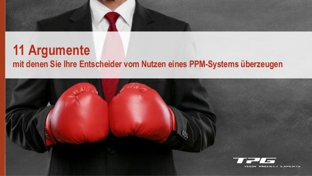 v2.1 11 Argumente mit denen Sie Ihre Entscheider vom Nutzen eines PPM-Systems überzeugen