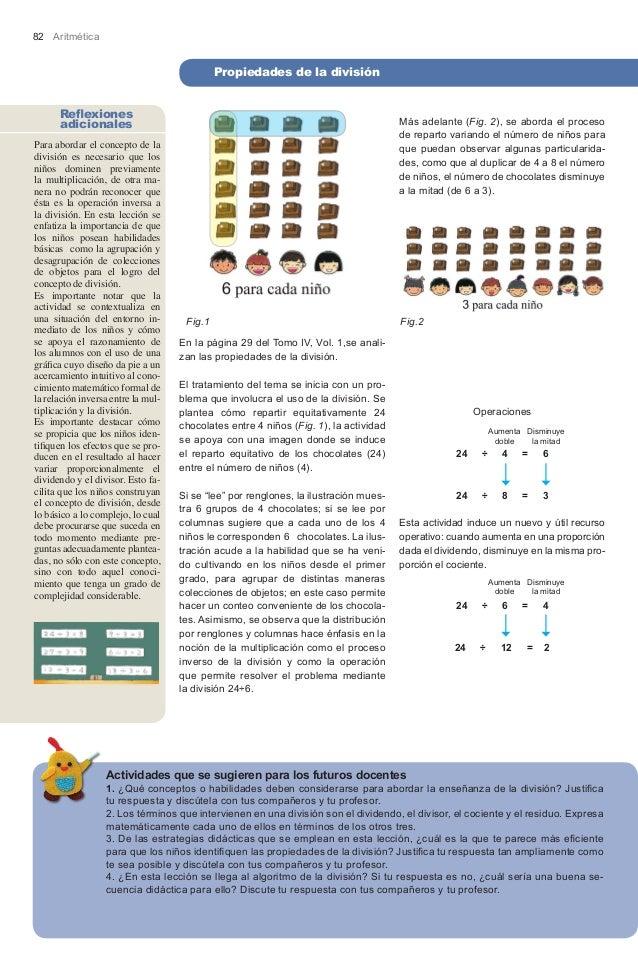 82 Aritmética                                             Propiedades de la división      Reflexiones      adicionales    ...