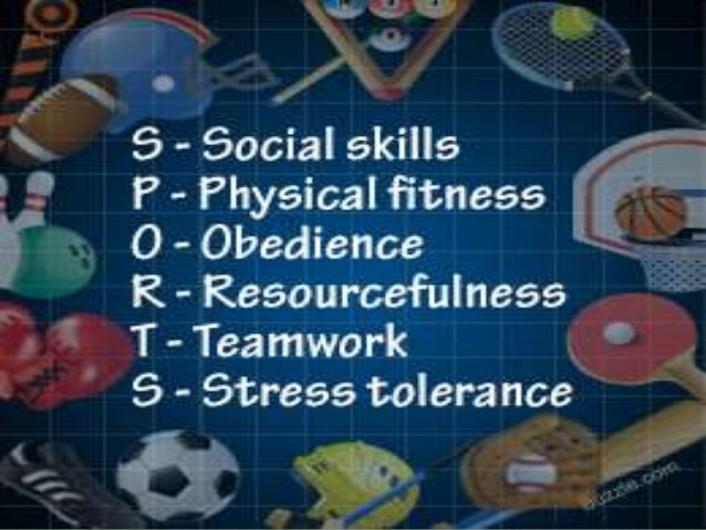 essay on values of sports and games