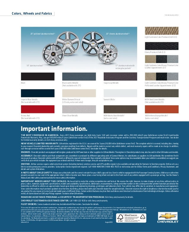 XX% 1 Use only GM-approved tire and wheel combinations. Unapproved combinations may change the vehicle's performance chara...