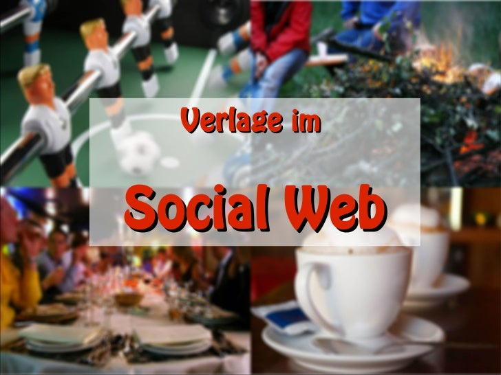 Verlage imSocial Web