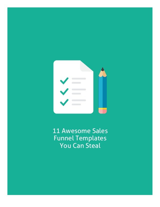 11 awesome sales funnel templates you can steal