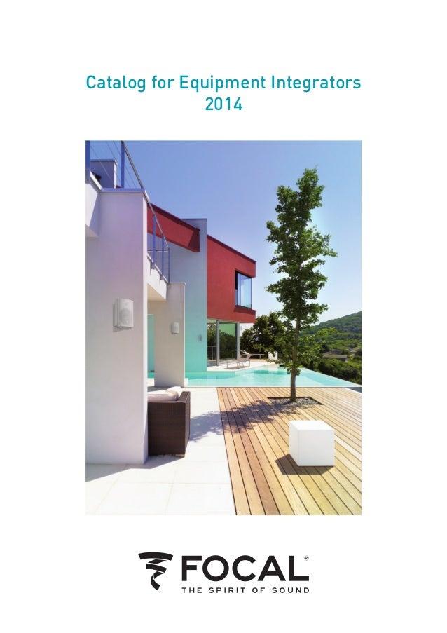 Catalog for Equipment Integrators 2014