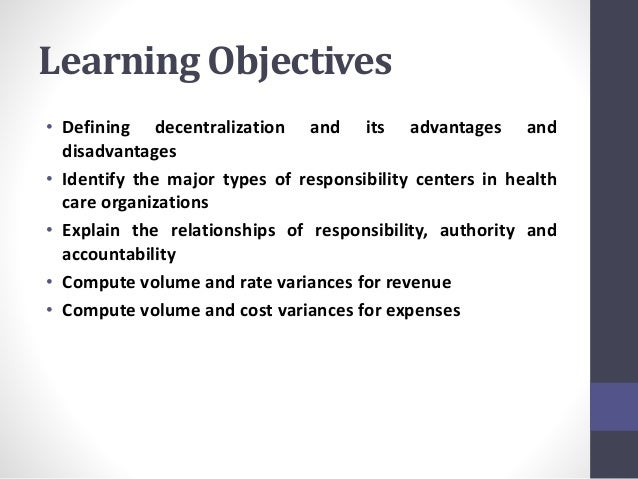 Chapter 11: Responsibility Budgeting Slide 2