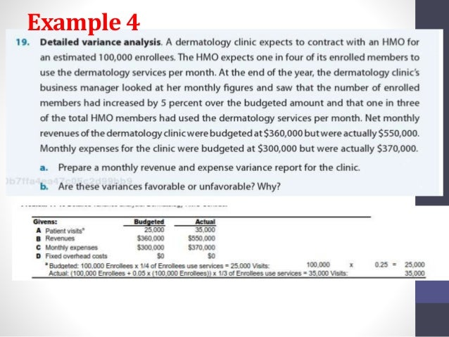 Chapter 11: Responsibility Budgeting