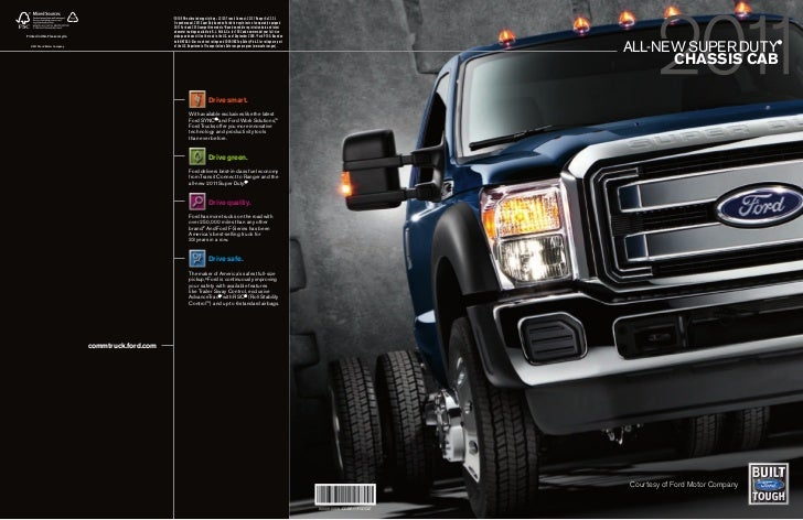 Jack Madden Ford 2011 Ford F Series Chassis Cab Brochure