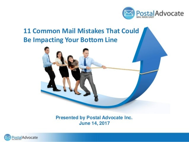The Main Event – PC Postage vs Postage Meters Presented by Postal Advocate Inc. 11 Common Mail Mistakes That Could Be Impa...