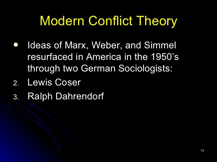marx s and weber s conceptualizations of modernity Marx's historical materialism focused on the economic and  following weber,  and even historical origin – simply associating it with modernity is.
