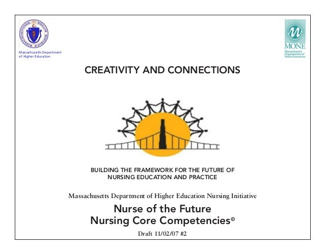 BUILDING THE FRAMEWORK FOR THE FUTURE OF NURSING EDUCATION AND PRACTICE Massachusetts Department of Higher Education Nursi...