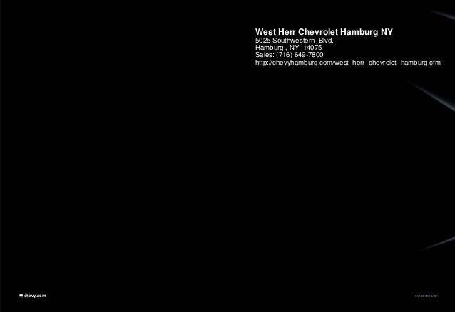 11CHECORCAT01chevy.com West Herr Chevrolet Hamburg NY 5025 Southwestern Blvd. Hamburg , NY 14075 Sales: (716) 649-7800 htt...