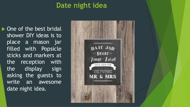 7 date night idea one of the best bridal shower