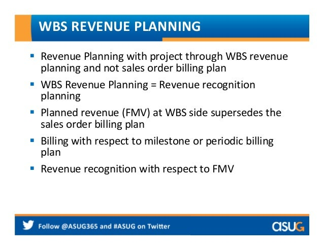2007 how to use sap project system for revenue recognition in profess