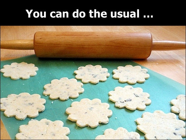 You can do the usual …