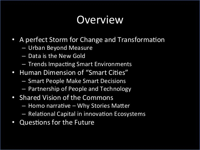 Smart Cities, Smart Citizens and Smart Decisions Slide 2