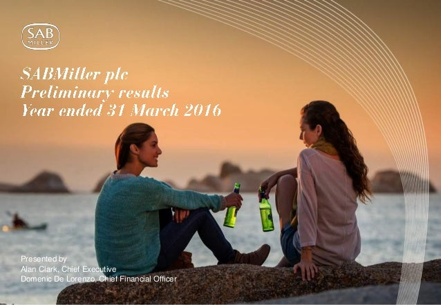sabmiller marketing mix Scenarios-ab inbev thirsty for a deal  others say spirits and beer do not mix  it might not want the distraction of running the high marketing budget of a.